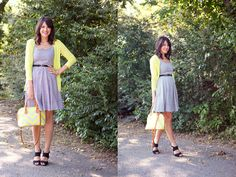 Kendi from Kendi Everyday in our simple striped #summer dress