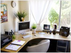 Arranging Home Office with Unique Concept: Home Office Design Corner Desk Pictures – Jaybean
