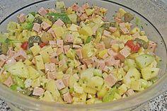 Holländischer Käse-Wurstsalat 1