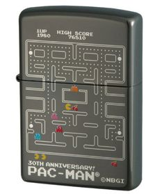 Pac-Man Zippo Lighters Put Arcade Fire In Your Pocket
