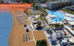 Eğlence ve spor aktiviteleriyle Kıbrıs'ın zengin tarihini bütünleştiren Acapulco Resort, tatilinize renk katacak. Yılbaşında Kıbrıs Otelleri'nde %35+%5'e varan indirim ve +9 taksit fırsatı! Bilgi ve Rezervasyon: ☎ 0212 211 40 20 - 21