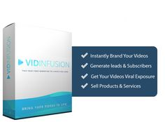 VidInfusion Review with HUGE BONUS and DISCOUNT - Create Video Marketing Campaigns Like Never Before