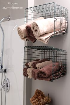 Industrial bathroom decor in a child's bathroom. Lots of great DIY ideas and inspiration, plus this is also a handicap accessible bathroom remodel!