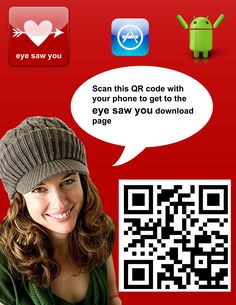 http://www.eyesawyou.com  A fun mobile app that allows you to have safe and anonymous conversations in public!