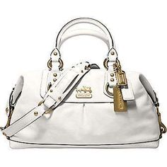 Ok, so not a huge fan of white shoes OR white purses, but every once in a while, it is the only thing that will do!
