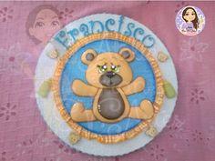 Como fazer Placa de Porta Maternidade-Ateliê Fran E.V.Artes