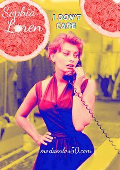 Divas al Teléfono - Moda en los 50 Ava Gardner, Judy Garland, Sophia Loren, Elizabeth Taylor, Grace Kelly, Audrey Hepburn, Rockabilly, Moda Pinup, Pin Up