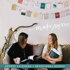 2015 Advent calendar + devotional bundle | Naptime Diaries