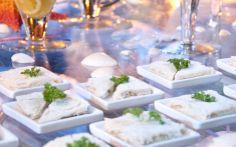 Além de miga com pasta de atum com azeitona