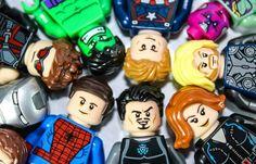 LEGO Minifigure Photo Idea