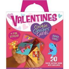 Cootie catcher valentine's day cards.