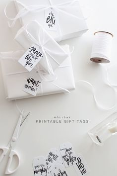 FREE holiday printable gift tags | almost makes perfect