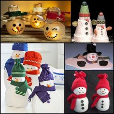 Cowie's Craft & Cooking Corner: Snowman Crafts