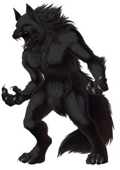 Werewolf - mythological or folkloric human with the ability to shapeshift into a wolf, either purposely or after being placed under a curse or affliction Creatures Of The Night, Magical Creatures, Fantasy Creatures, Female Werewolves, Vampires And Werewolves, Furry Wolf, Furry Art, Wolf Pup, Bark At The Moon