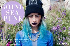 Going Sea Punk! #seapunk model: Alexandra Superfunky styling: Laura Rey Barcelli  MUA: Simona Latino