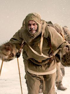 Acclaimed polar explorer Sir Ernest Shackleton wore Burberry gabardine on three expeditions.