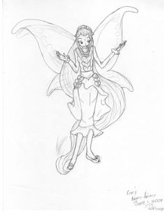 rani the fairy coloring pages - photo#38