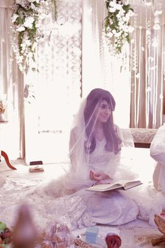 "Crazy cute nikah look shaadifashion: ""Bridal by Maheen Karim"""