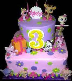 Littlest pet shop cake!