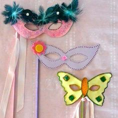 Little Girls' Princess Mask: How To