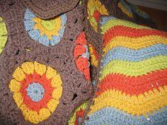 Colors Ravelry: kendraw's Hexagon Blanket