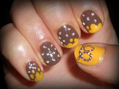 Yellow Pretzel and salt granules!