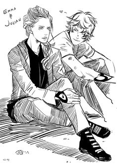 Emma Carstairs & Julian Blackthorn.