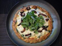 Kate's Guide to Your Inner Foodie: Cauliflower Pizza Crust {GF + Low-Carb + Vegetarian}