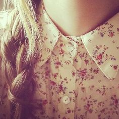 floral and collar