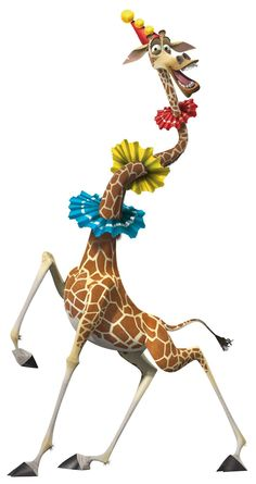 Melman...but now that I realized David Schwimmer plays him...all I can hear is Ross. haha