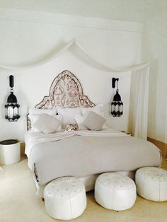 Suite Riad Snan13 in Marrakesch LOVING THIS ABSOLUTELY GORGEOUS BEDROOM!! - THERE IS SO MUCH TO LIKE ABOUT THIS MAGICAL & STUNNING ROOM!! ⚜