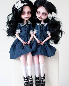 Doll Scary Monster High 67 Ideas For 2019 Custom Monster High Dolls, Monster High Repaint, Custom Dolls, Ooak Dolls, Blythe Dolls, Scary Dolls, Gothic Dolls, Anime Dolls, Halloween Disfraces