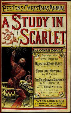 A Study in Scarlet by Sir Arthur Conan Doyle | Book Snob