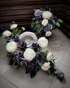 Vence, Funeral Flowers, Container Plants, Floral Wreath, Wreaths, Artist, Handmade, Inspiration, Decor