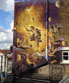 James Cochran,  (Jimmy C,) &  Waverely Arms, Peckham, London for the Baroque the Streets project with the Dulwich Picture Gallery ♥♥♥