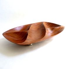 Emil Milan Sculptured African Rosewood Bowl with by mascarajones, $595.00