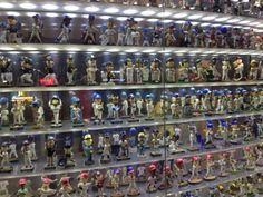 Bobblehead display at Marlins Park!! Seen this quite a few times... wanna start my own!