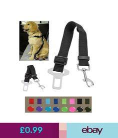 Harnesses Adjustable Car Pet Dog Safety Seat Belt Harness Restraint Leash Strap Rope #ebay #Home & Garden Dog Belt, Dog Seat Belt, Seat Belts, Seat Belt Harness, Dog Safety, Pet Dogs, Pup, Garden, Ebay