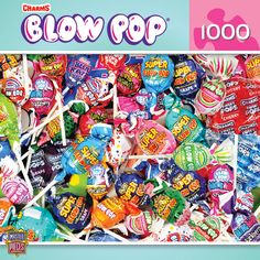 Master Pieces Puzzle Company, 1000 pieces, Blow Pops (Candy Brands)