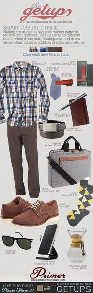 The Getup: Smart Casual Office