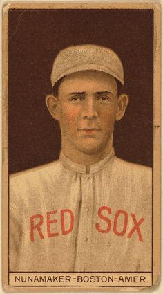 [Leslie Nunamaker, Boston Red Sox, baseball card portrait] | Library of Congress
