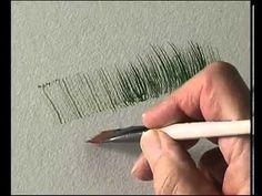 ▶ Terry Harrison's Pro Arte Masterstroke Brushes - The Flat Comb/ Rake - YouTube