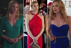Emily VanCamp gets to wear the prettiest dresses on Revenge! Pretty Dresses, Sexy Dresses, Short Dresses, Emily Revenge, Revenge Tv, Revenge Fashion, Emily Thorne, Emily Vancamp, Textiles