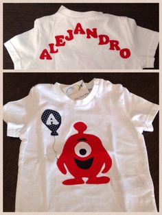 Camiseta personalizada para Alejandro www.facebook.com/cottonlima