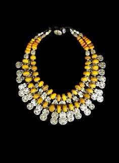 Yellow Moroccan Necklace