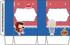 Casinha de Criança: Kit Chapeuzinho Vermelho Para Imprimir Grátis