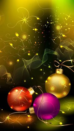 By Artist Unknown. Christmas Scenes, Christmas Balls, Christmas Pictures, Christmas Art, Christmas Greetings, Christmas Holidays, Christmas Decorations, Christmas Ornaments, Christmas Movies