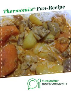 Recipe Penang Chicken Curry with Potato and Sweet Potato by specialktoday, learn to make this recipe easily in your kitchen machine and discover other Thermomix recipes in Main dishes - meat. Chicken Satay, Chicken Curry, Kfc Chicken Recipe, Chicken Recipes, Cooking Basmati Rice, Recipe Community, Bellini, Curries, Thermomix