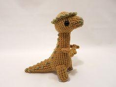 Ravelry: Amigurumi Pachycephalosaurus Dinosaur pattern by Mevlinn Gusick