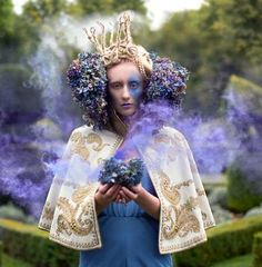 """♕ Crown Couture ♕ """"Wonderland"""" by Kirsty Mitchell"""